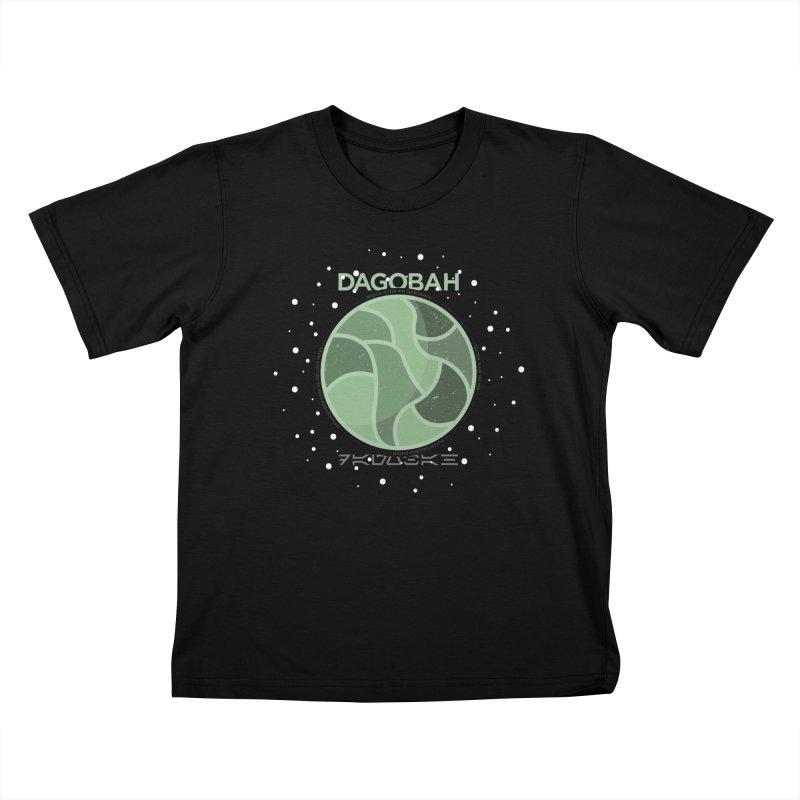 Dagobah Kids Toddler T-Shirt by 5eth's Artist Shop