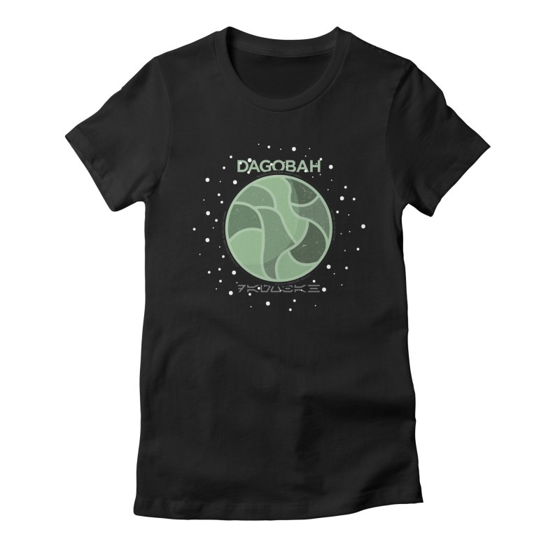 Dagobah Women's Fitted T-Shirt by 5eth's Artist Shop