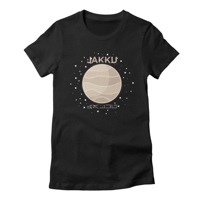 Jakku Women's Fitted T-Shirt by 5eth's Artist Shop