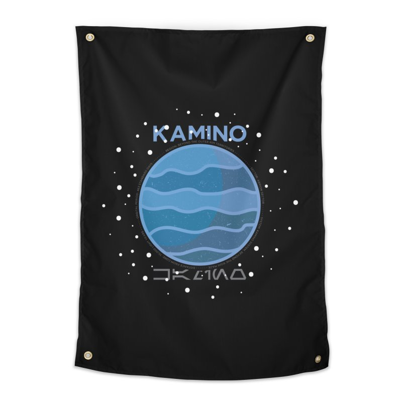 Kamino Home Tapestry by 5eth's Artist Shop