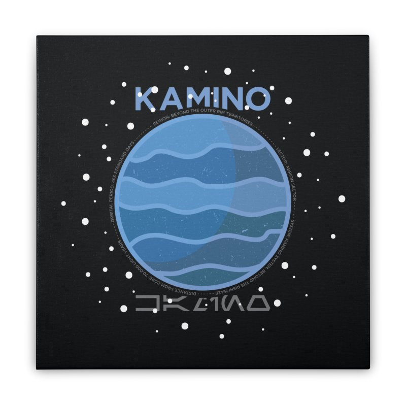 Kamino Home Stretched Canvas by 5eth's Artist Shop