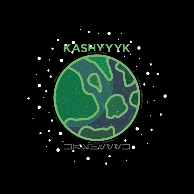 Kashyyyk Home Blanket by 5eth's Artist Shop
