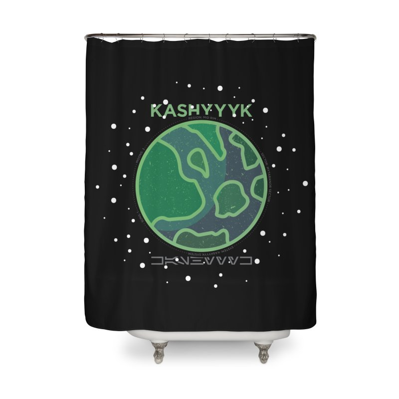 Kashyyyk Home Shower Curtain by 5eth's Artist Shop