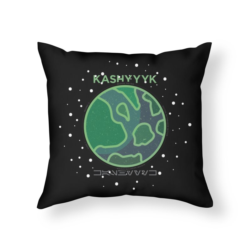 Kashyyyk Home Throw Pillow by 5eth's Artist Shop