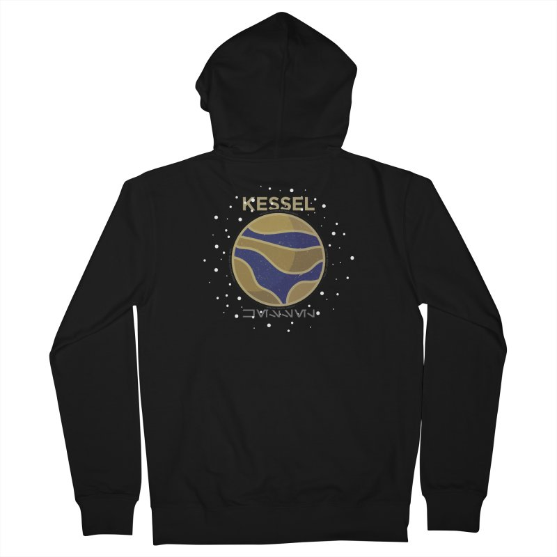 Kessel Men's French Terry Zip-Up Hoody by 5eth's Artist Shop