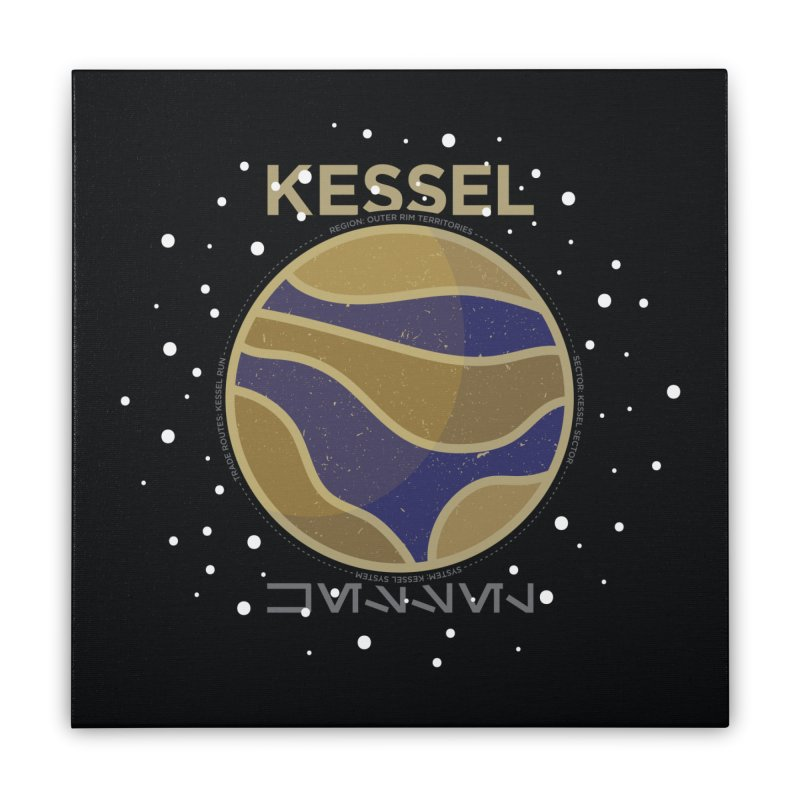 Kessel Home Stretched Canvas by 5eth's Artist Shop