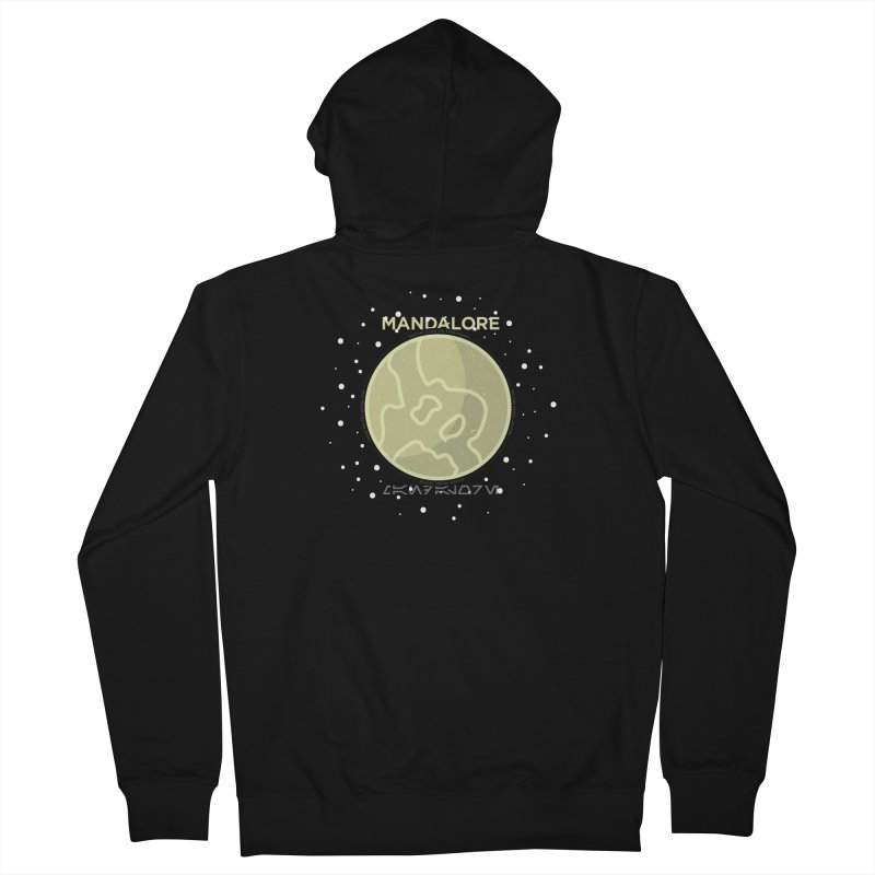 Mandalore Men's French Terry Zip-Up Hoody by 5eth's Artist Shop