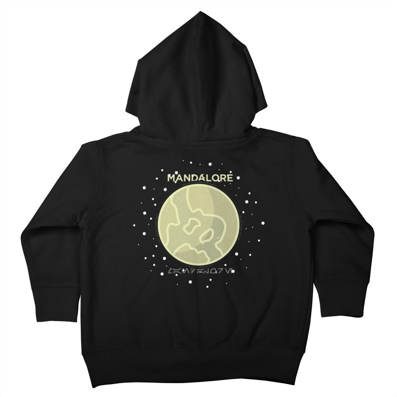 Mandalore Kids Toddler Zip-Up Hoody by 5eth's Artist Shop