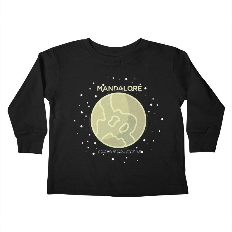 Mandalore Kids Toddler Longsleeve T-Shirt by 5eth's Artist Shop