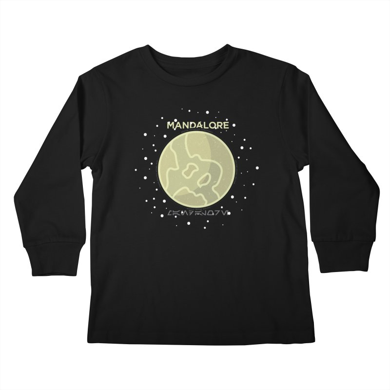 Mandalore Kids Longsleeve T-Shirt by 5eth's Artist Shop