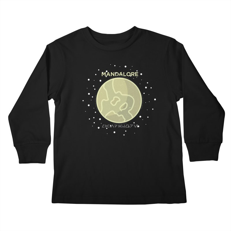 Mandalore Kids Longsleeve T-Shirt by 5eth's Artist Shop