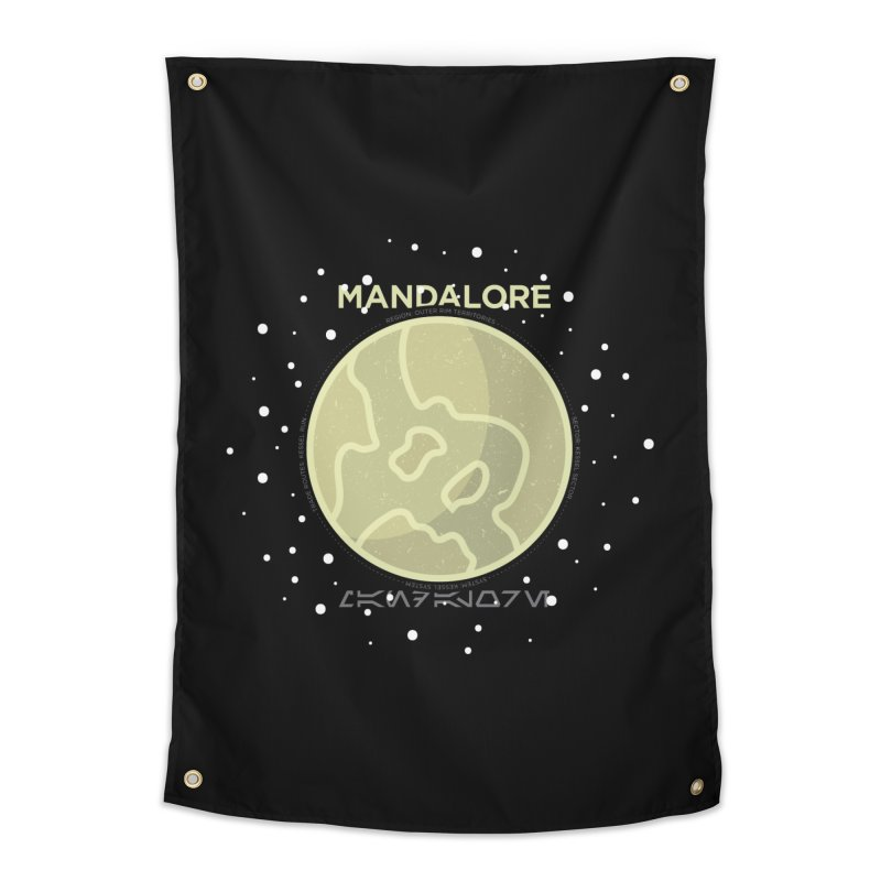 Mandalore Home Tapestry by 5eth's Artist Shop