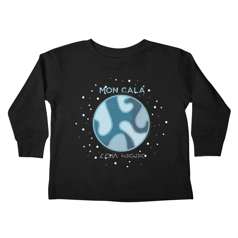 Mon Cala Kids Toddler Longsleeve T-Shirt by 5eth's Artist Shop