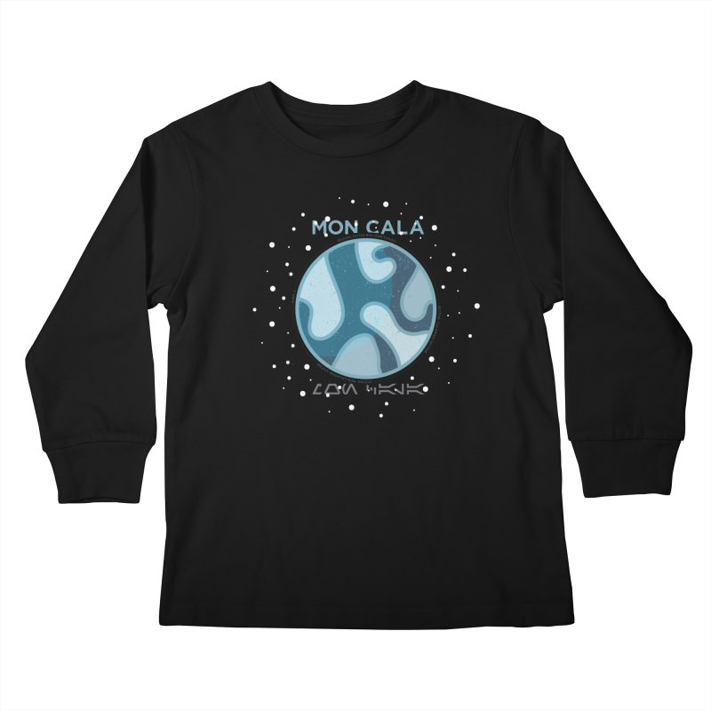 Mon Cala Kids Longsleeve T-Shirt by 5eth's Artist Shop