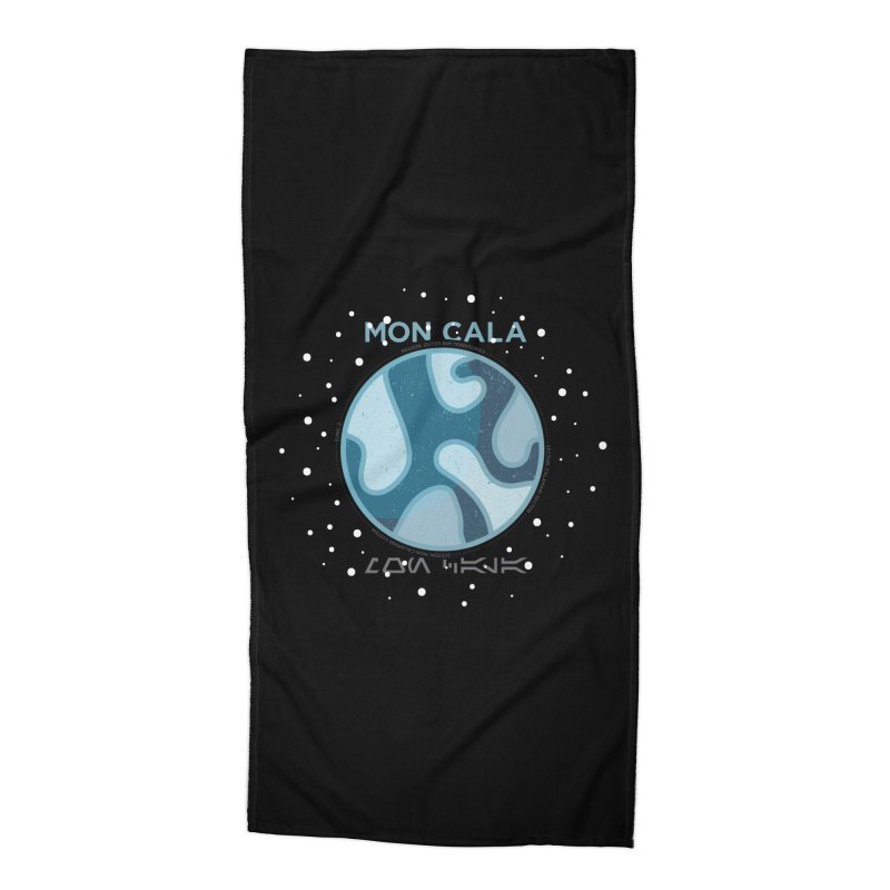 Mon Cala Accessories Beach Towel by 5eth's Artist Shop