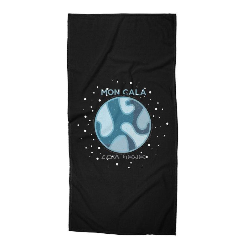 Mon Cala Accessories Beach Towel by 5eth's Artist Shop