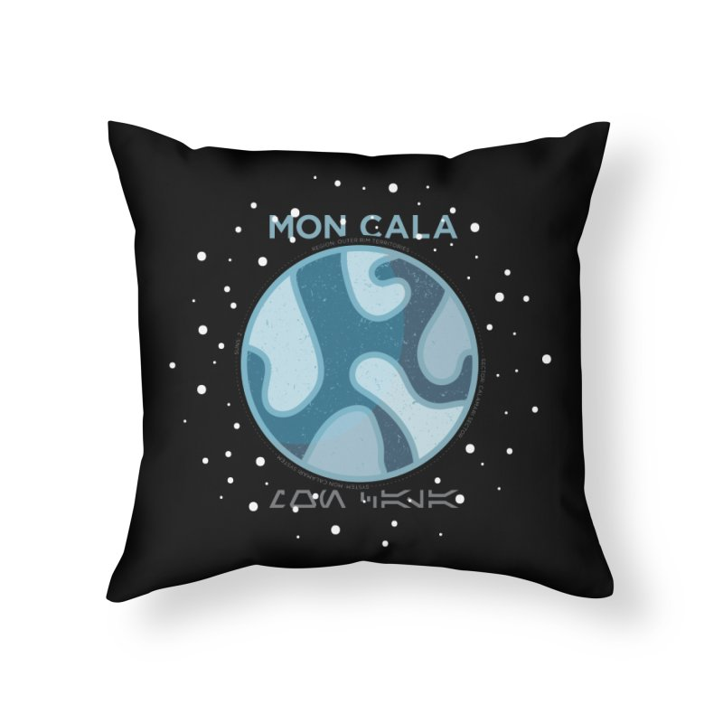 Mon Cala Home Throw Pillow by 5eth's Artist Shop
