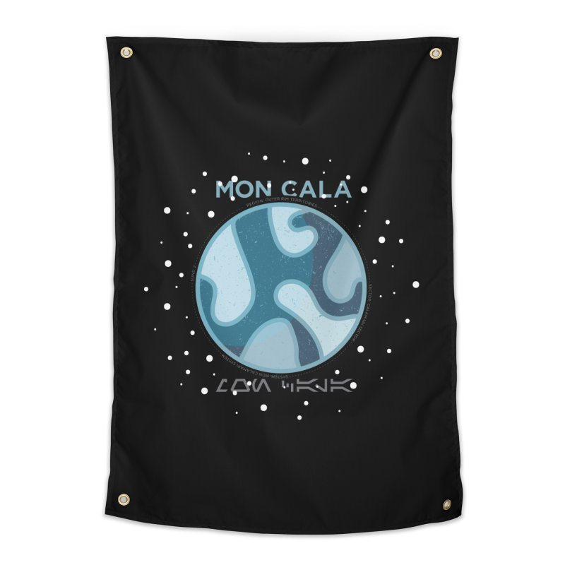 Mon Cala Home Tapestry by 5eth's Artist Shop