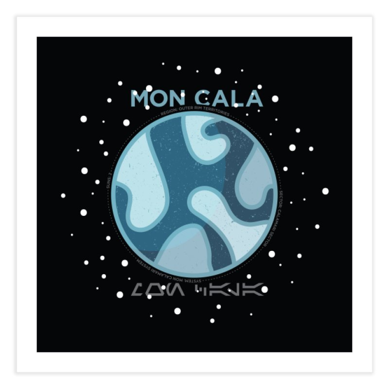 Mon Cala Home Fine Art Print by 5eth's Artist Shop