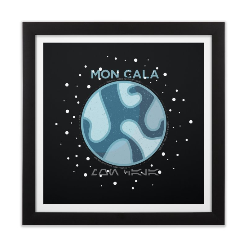 Mon Cala Home Framed Fine Art Print by 5eth's Artist Shop
