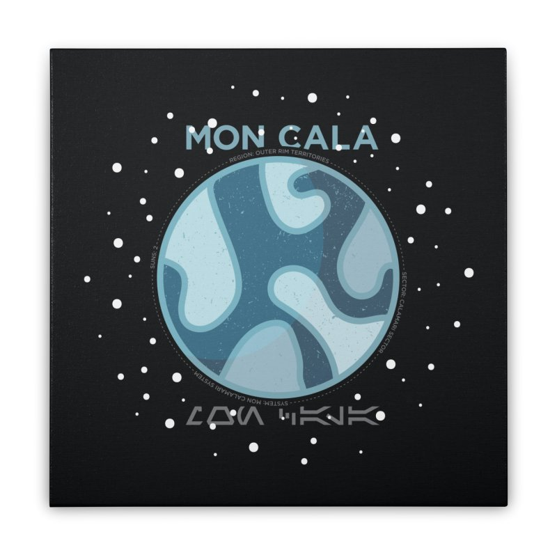 Mon Cala Home Stretched Canvas by 5eth's Artist Shop