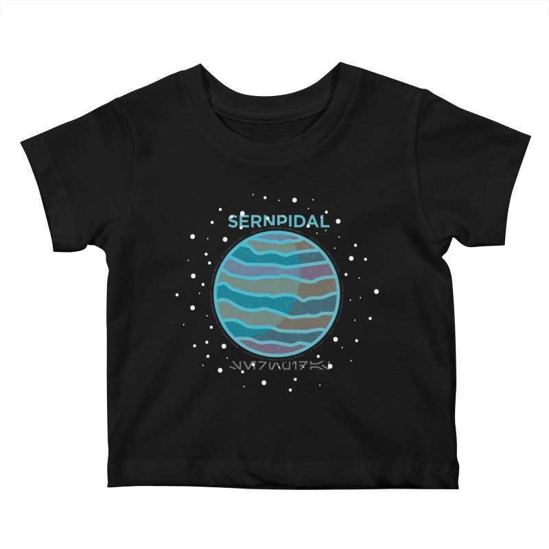 Sernpidal Kids Baby T-Shirt by 5eth's Artist Shop