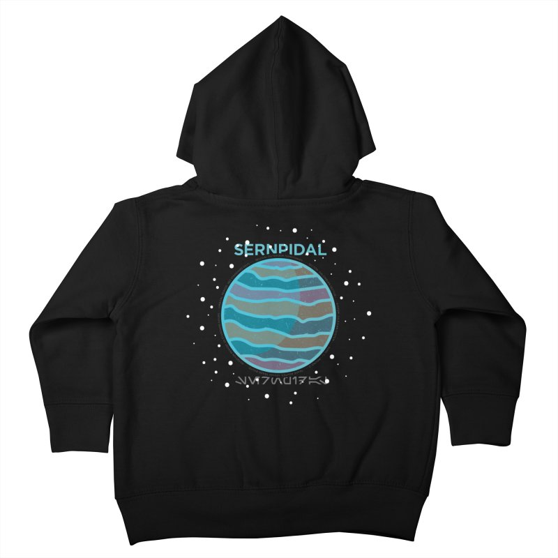 Sernpidal Kids Toddler Zip-Up Hoody by 5eth's Artist Shop