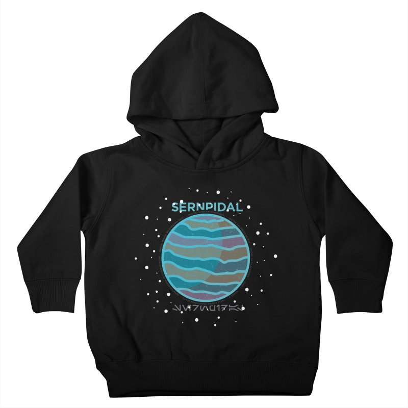 Sernpidal Kids Toddler Pullover Hoody by 5eth's Artist Shop