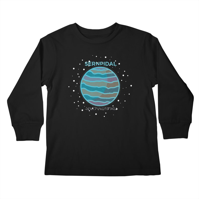 Sernpidal Kids Longsleeve T-Shirt by 5eth's Artist Shop