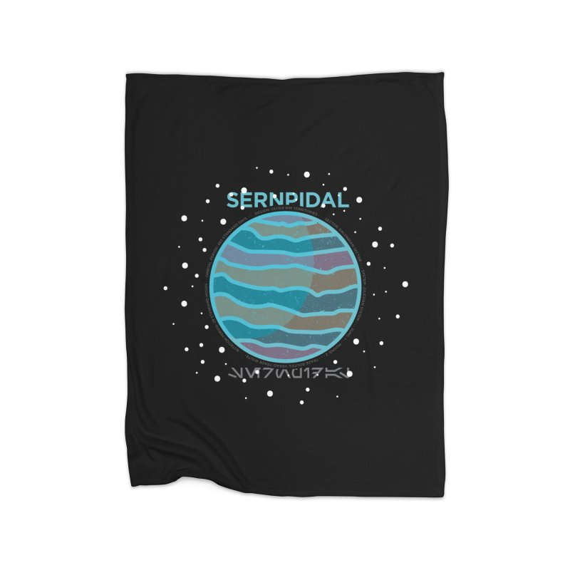 Sernpidal Home Fleece Blanket by 5eth's Artist Shop