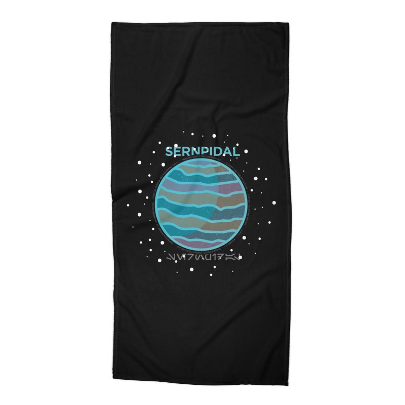 Sernpidal Accessories Beach Towel by 5eth's Artist Shop