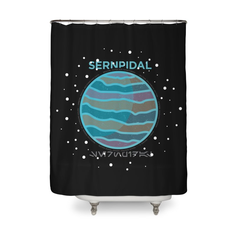 Sernpidal Home Shower Curtain by 5eth's Artist Shop