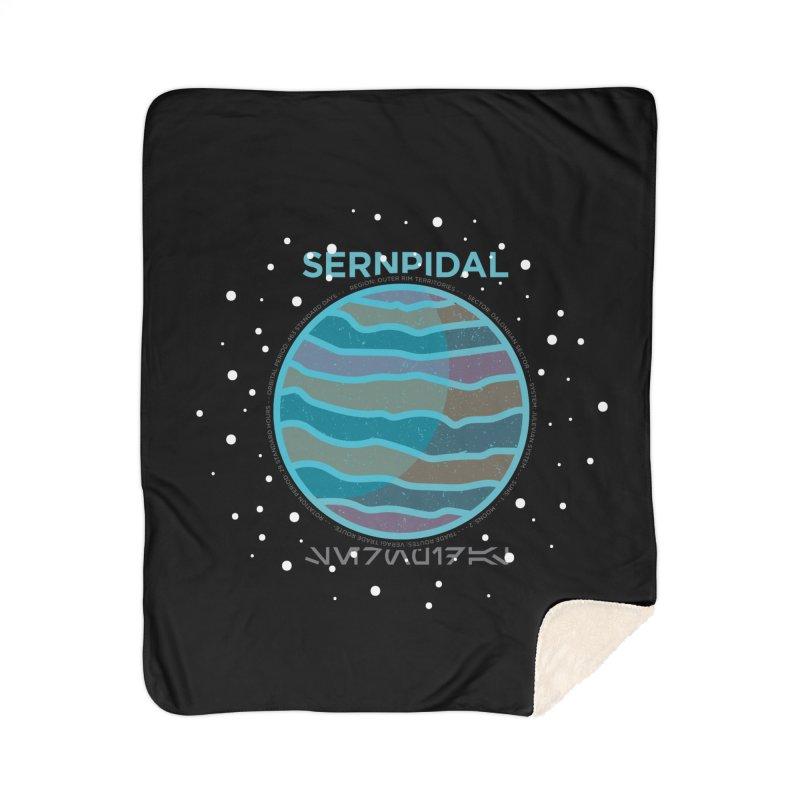 Sernpidal Home Sherpa Blanket Blanket by 5eth's Artist Shop