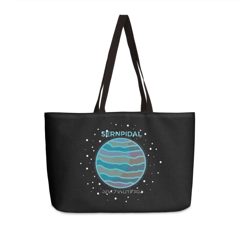 Sernpidal Accessories Weekender Bag Bag by 5eth's Artist Shop