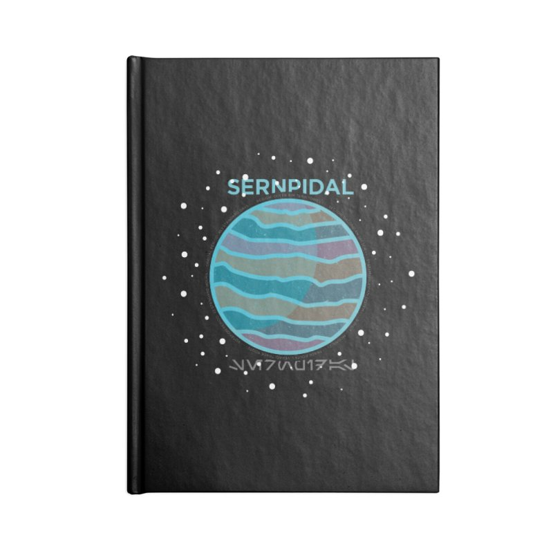 Sernpidal Accessories Lined Journal Notebook by 5eth's Artist Shop