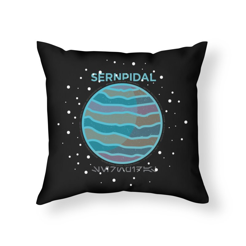 Sernpidal Home Throw Pillow by 5eth's Artist Shop