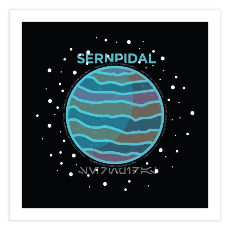 Sernpidal Home Fine Art Print by 5eth's Artist Shop
