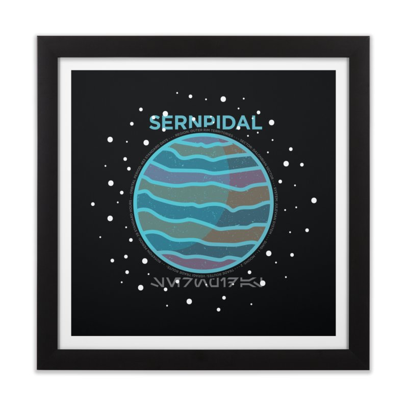 Sernpidal Home Framed Fine Art Print by 5eth's Artist Shop