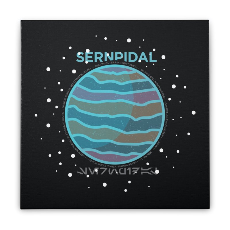 Sernpidal Home Stretched Canvas by 5eth's Artist Shop