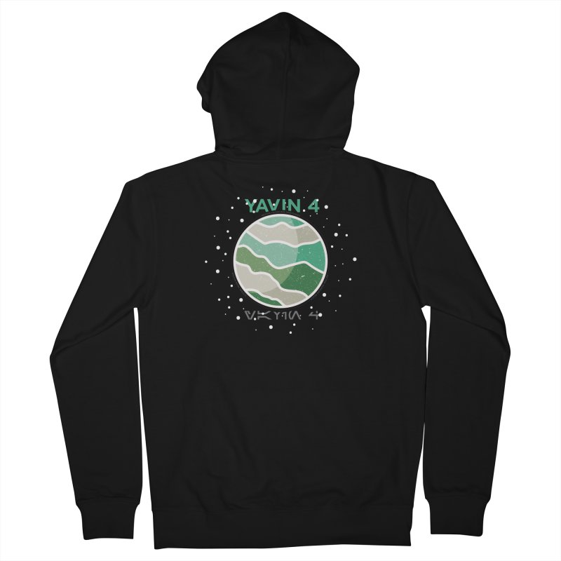 Yavin 4 Women's Zip-Up Hoody by 5eth's Artist Shop