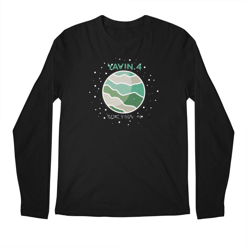 Yavin 4 Men's Regular Longsleeve T-Shirt by 5eth's Artist Shop