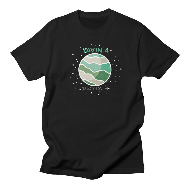 Yavin 4 Men's T-shirt by 5eth's Artist Shop