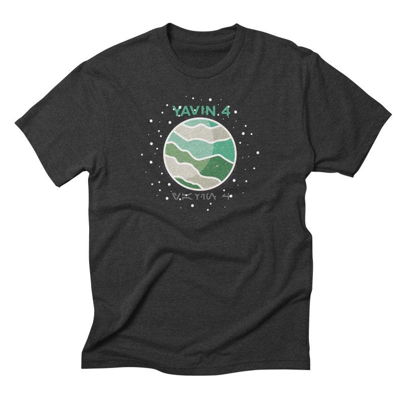 Yavin 4 Men's Triblend T-Shirt by 5eth's Artist Shop