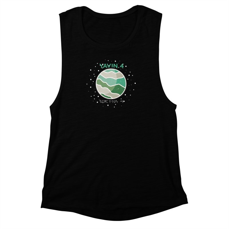 Yavin 4 Women's Muscle Tank by 5eth's Artist Shop