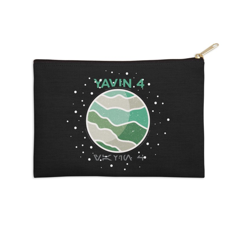Yavin 4 Accessories Zip Pouch by 5eth's Artist Shop