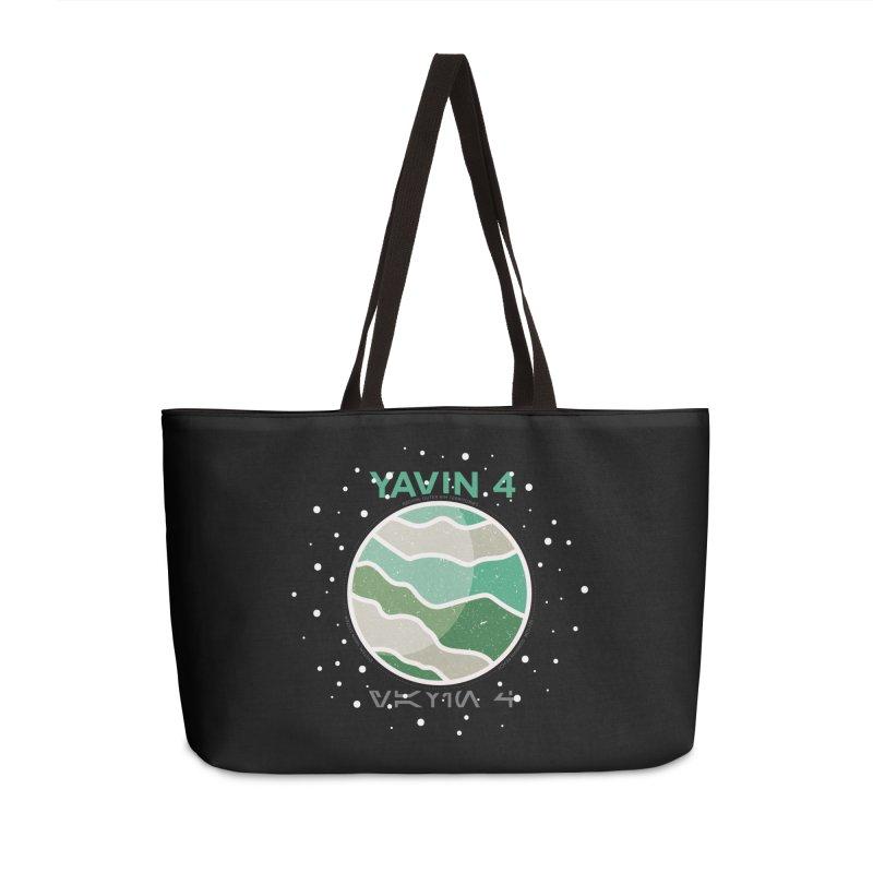 Yavin 4 Accessories Weekender Bag Bag by 5eth's Artist Shop
