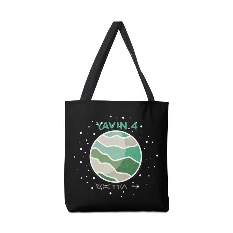 Yavin 4 Accessories Bag by 5eth's Artist Shop