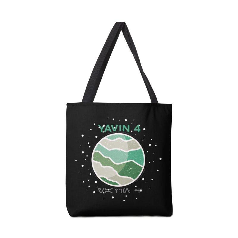 Yavin 4 Accessories Tote Bag Bag by 5eth's Artist Shop