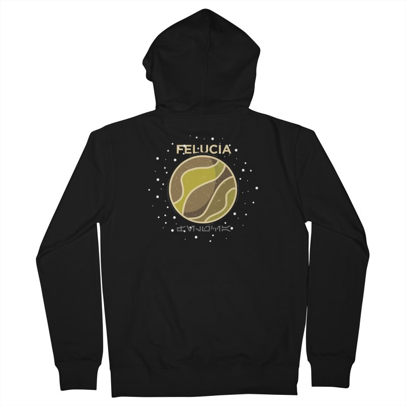 Felucia Men's French Terry Zip-Up Hoody by 5eth's Artist Shop