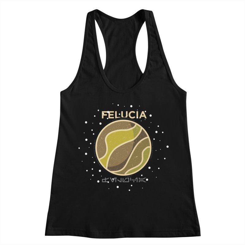 Felucia Women's Racerback Tank by 5eth's Artist Shop
